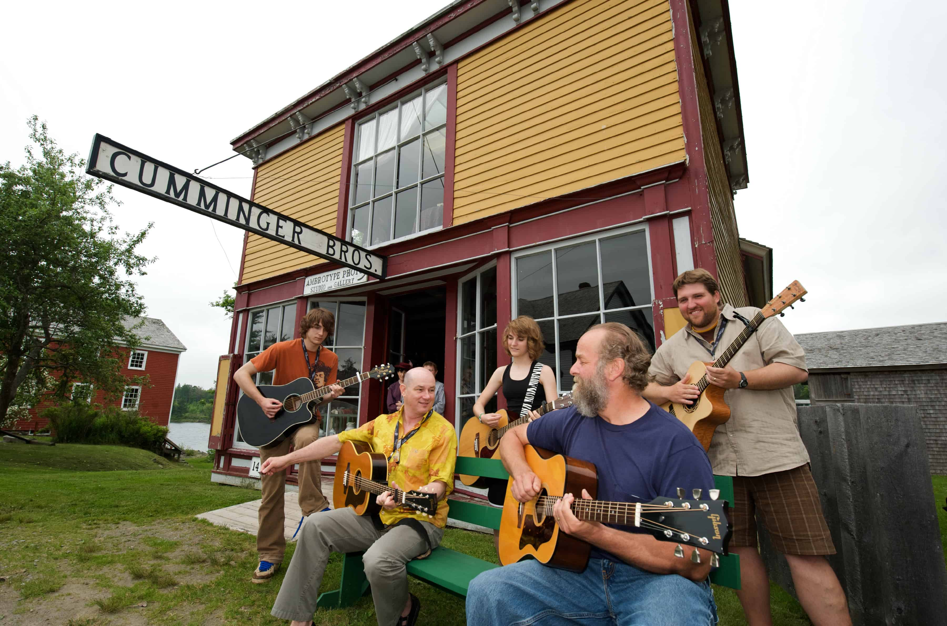 Songwriters workshop in Sherbrooke Village on the Eastern Shore