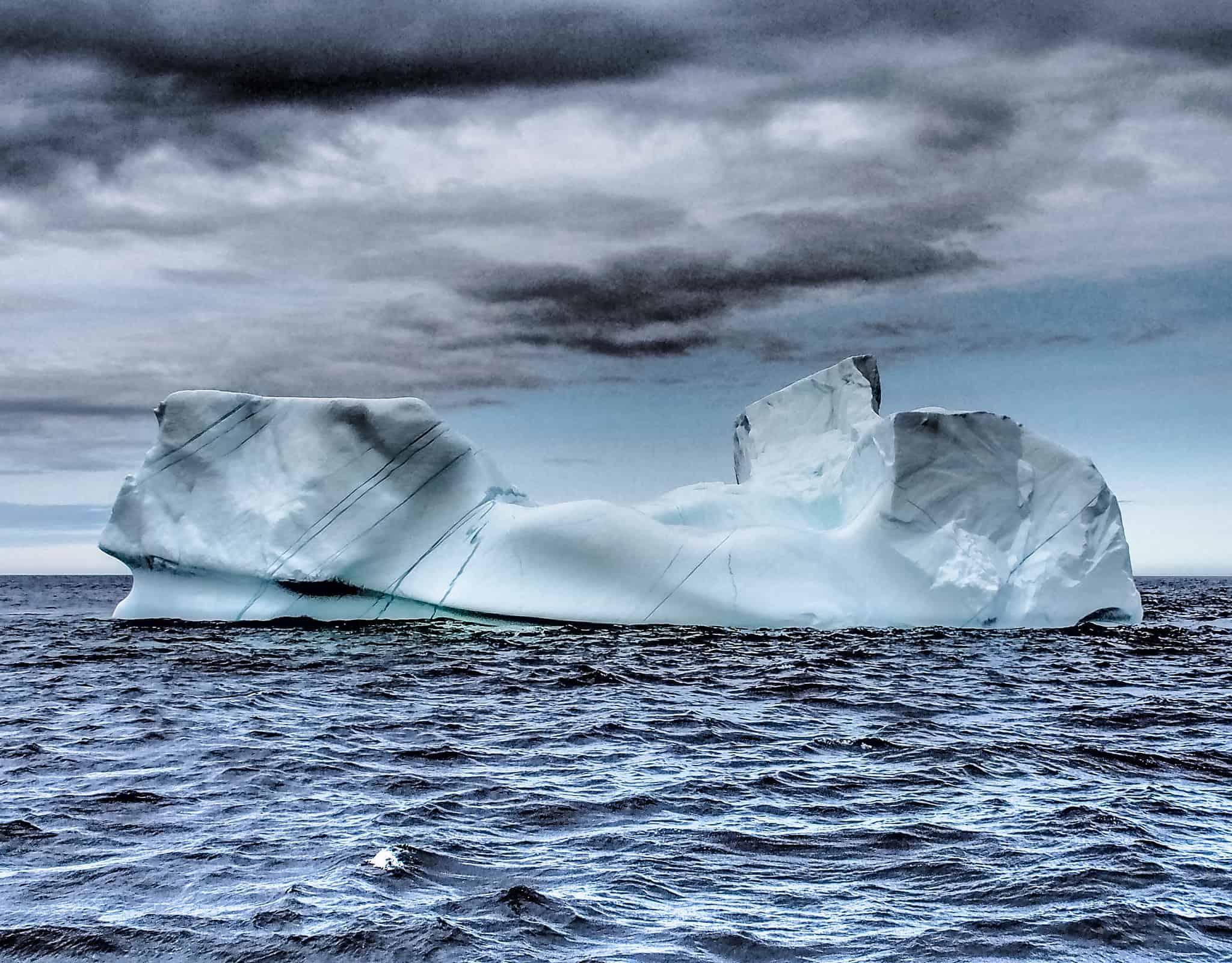 Eisberg vor labrador