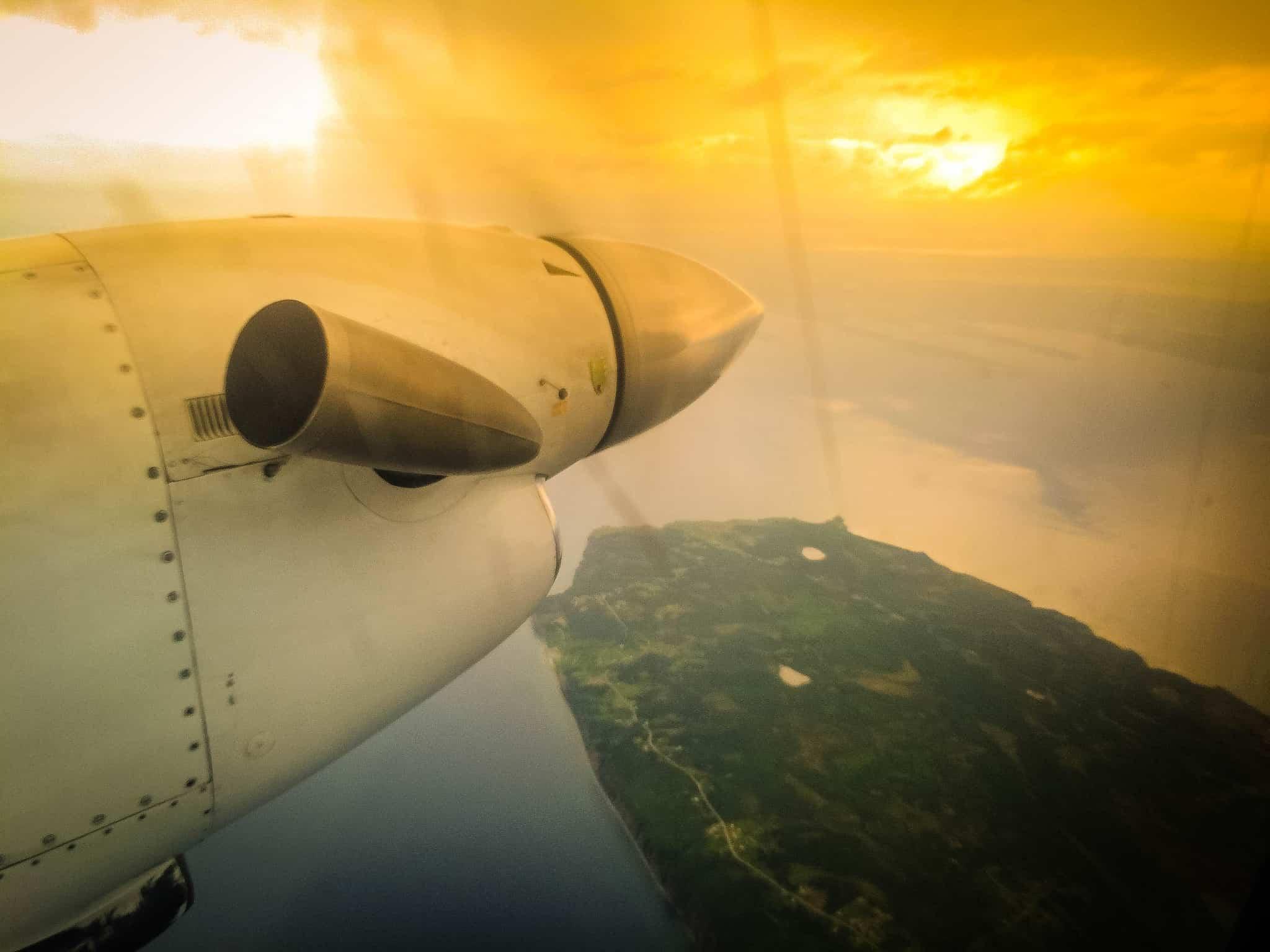 Fliegen über Neufundland