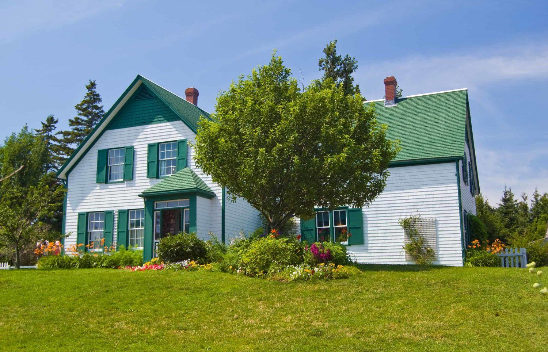 Das grüne Bauernhaus »Green Gables«, im Avonlea Village, Prince Edward Island