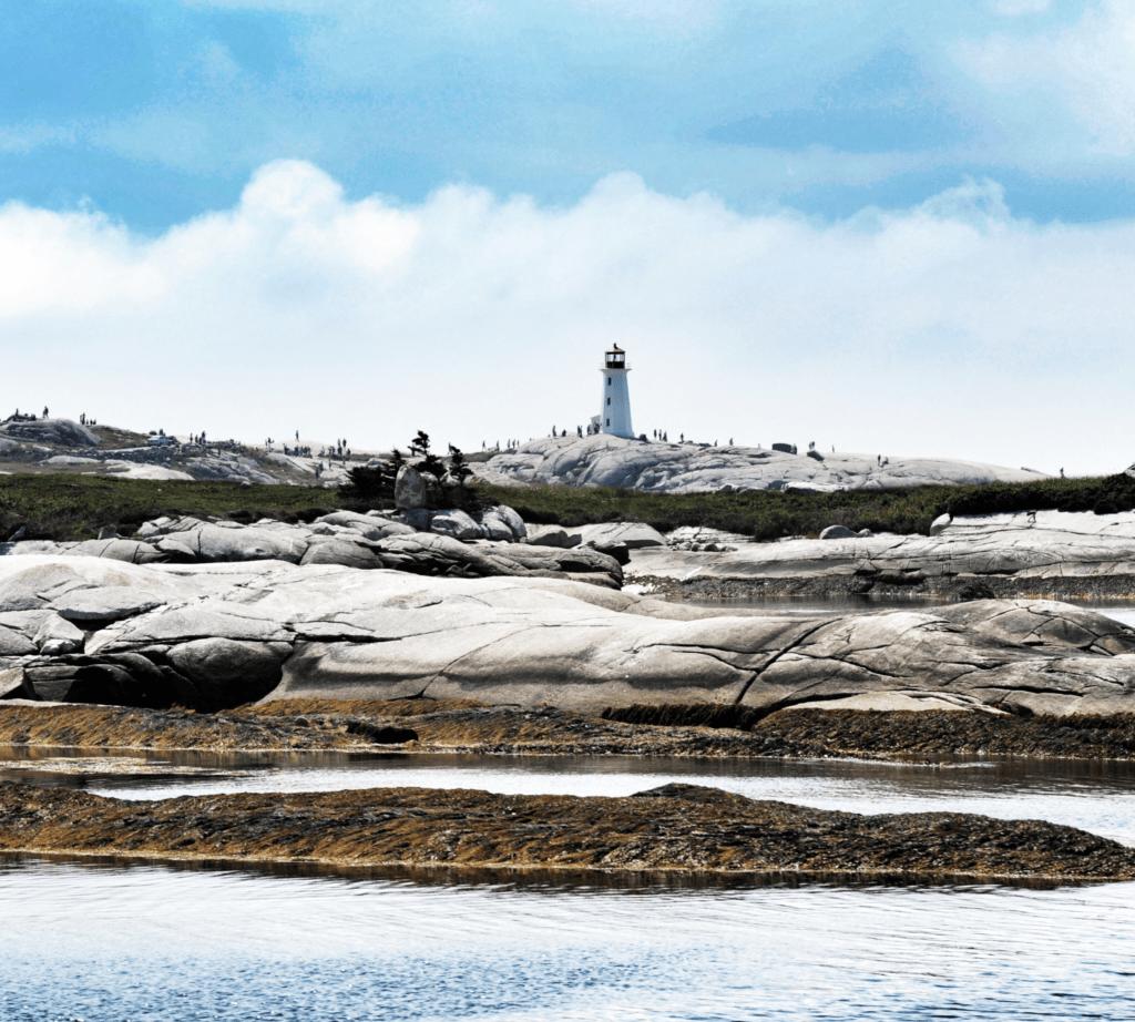 Einer der schönsten Leuchttürme Kanadas: Peggy's Cove