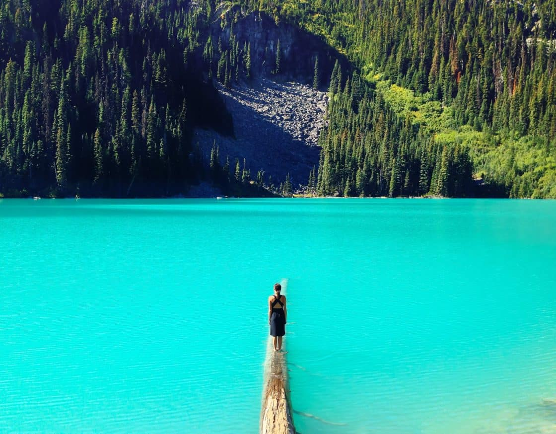 Joffre Lakes Trail, Mount Currie, Kanada