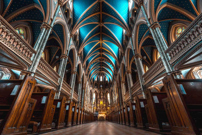Basilika Notre Dame, Ottawa, Kanada