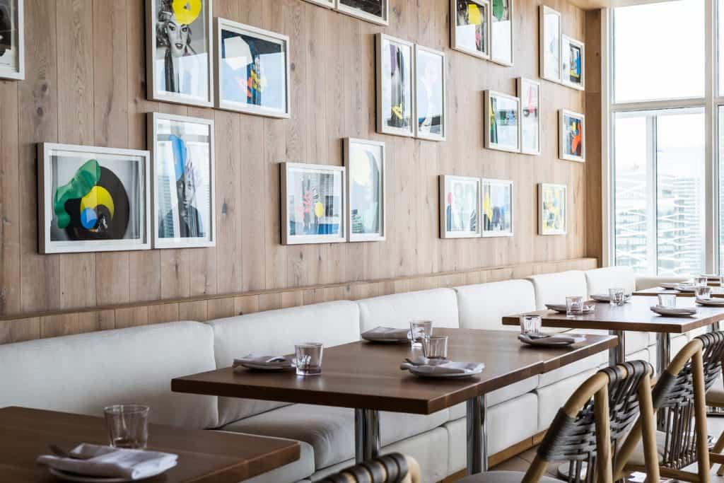 Das Restaurant im Hotel Bisha, Toronto