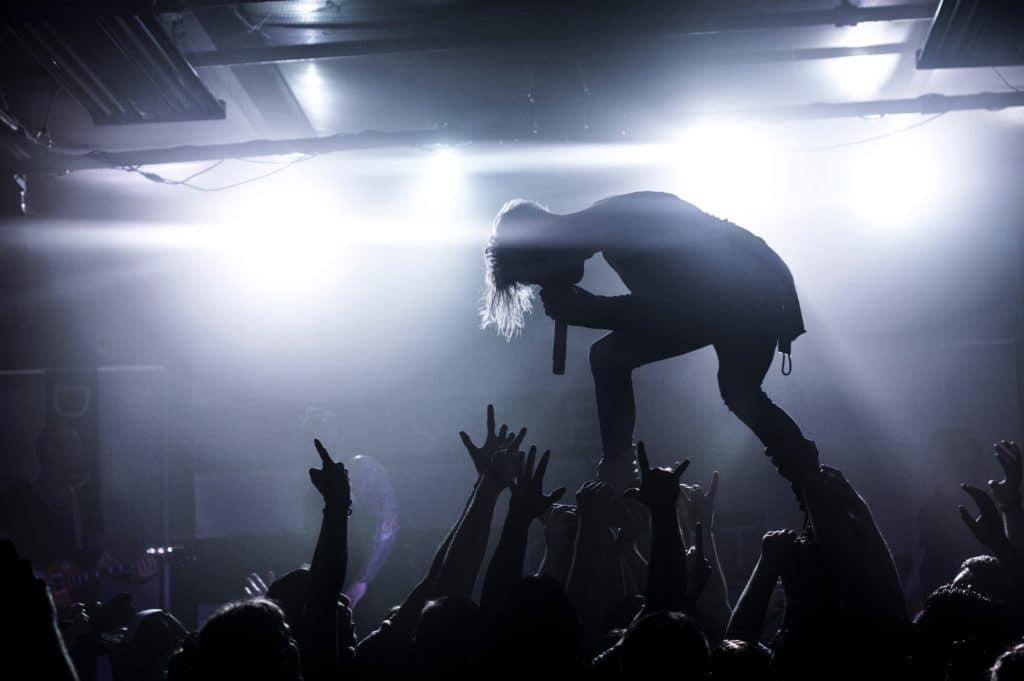 Ein Rockkonzert