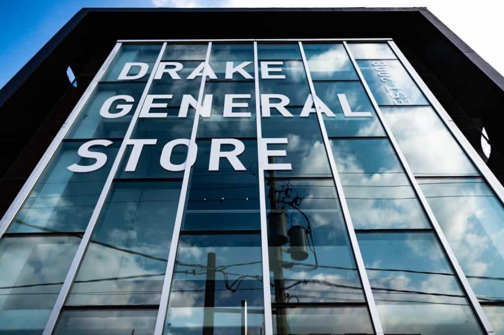 Drake Store in Toronto