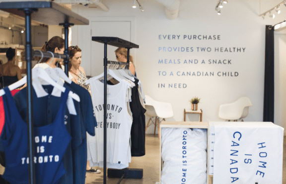 Peace Collective Shop in Toronto