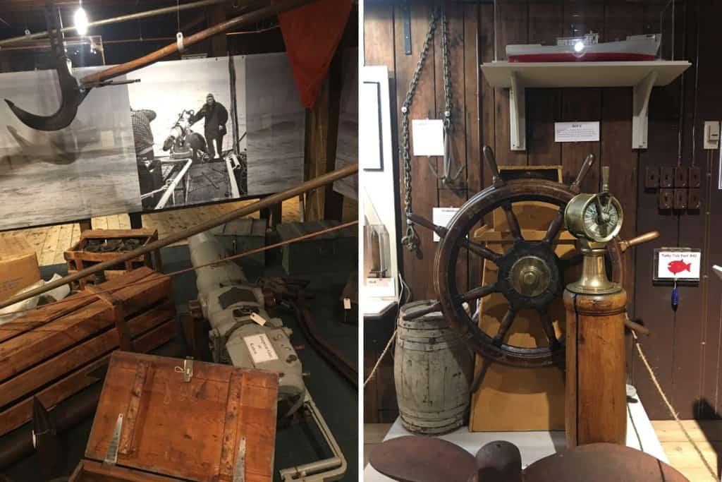 Fischerei Museum Lunenburg, innen, Nova Scotia, Kanada