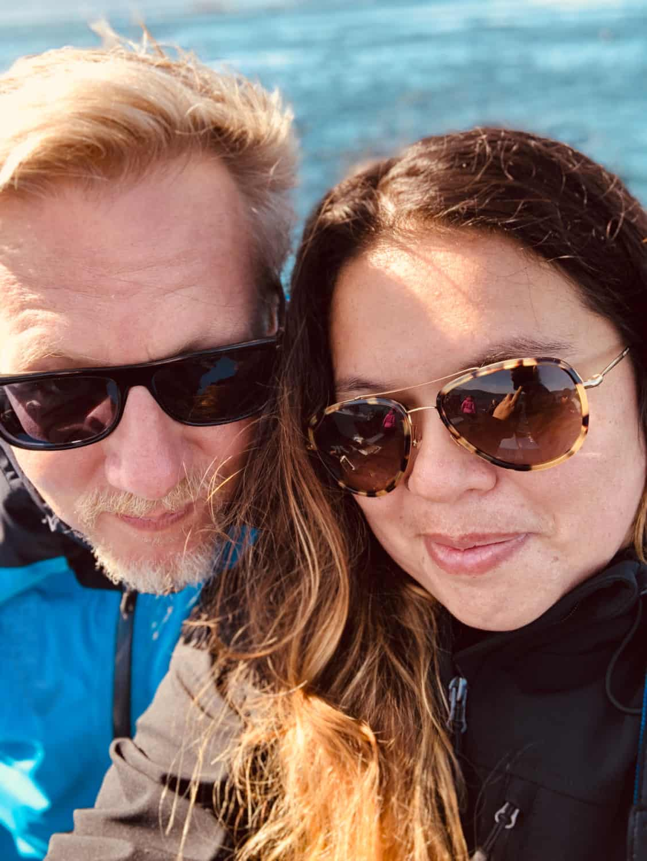 Das Ehepaar Jennifer Latuperisa-Andresen und Jan Malte Andresen in Kanada