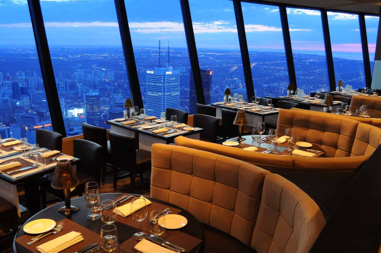 Bistro im CN Tower