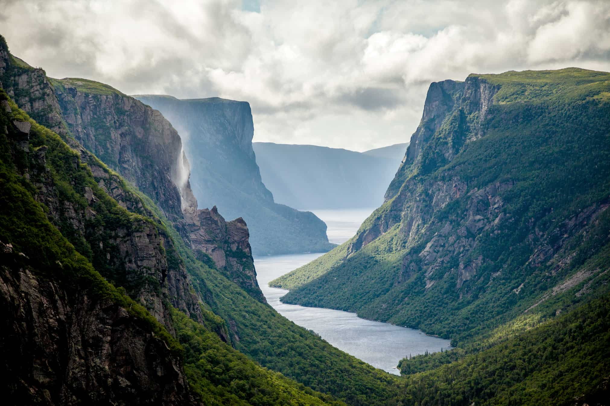Western Brook Pond Fjord Gros Morne National Park Western
