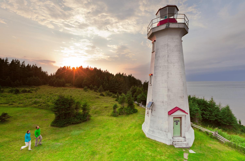 Leuchtturm, Anticosti Island