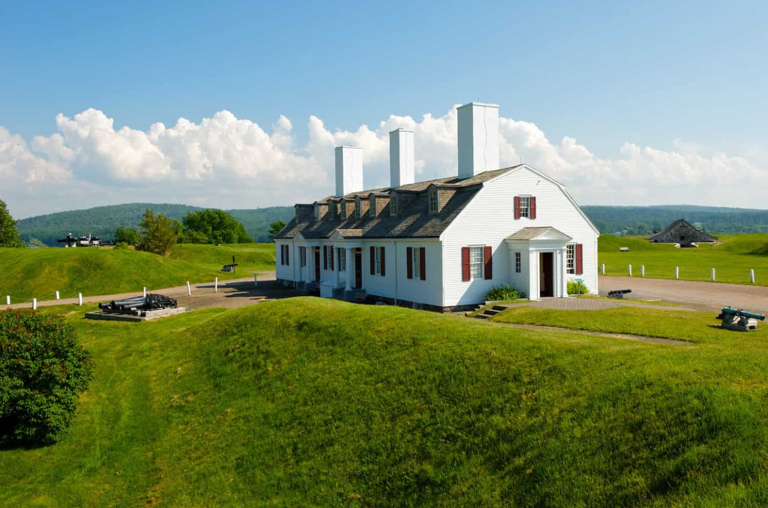 Fort Anne National Historic Site in Annapolis Royal