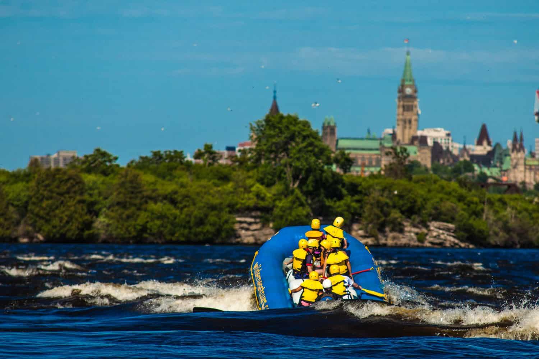 Ottawa City Rafting Parliament