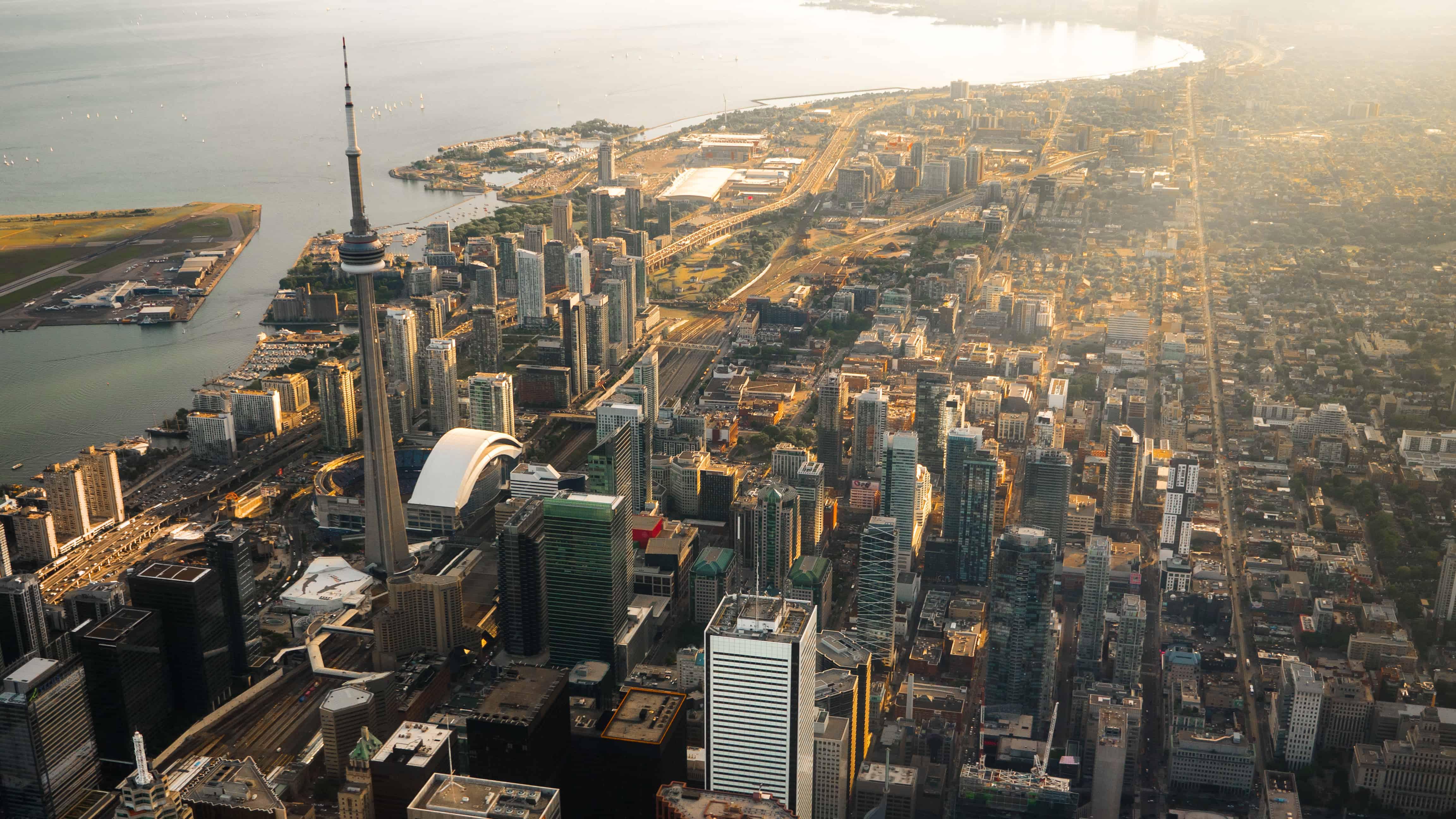 Aerial View Toronto
