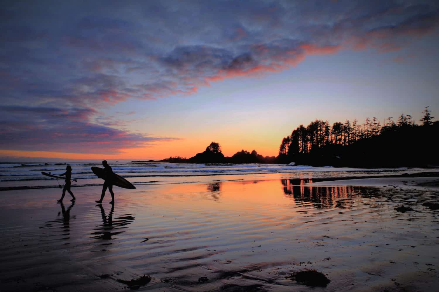 Traumstrand in Tofino