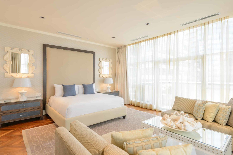 Bett im Penthouse von The Loden