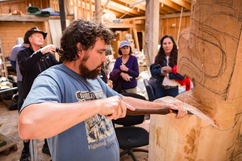 Haida House Tour Carver