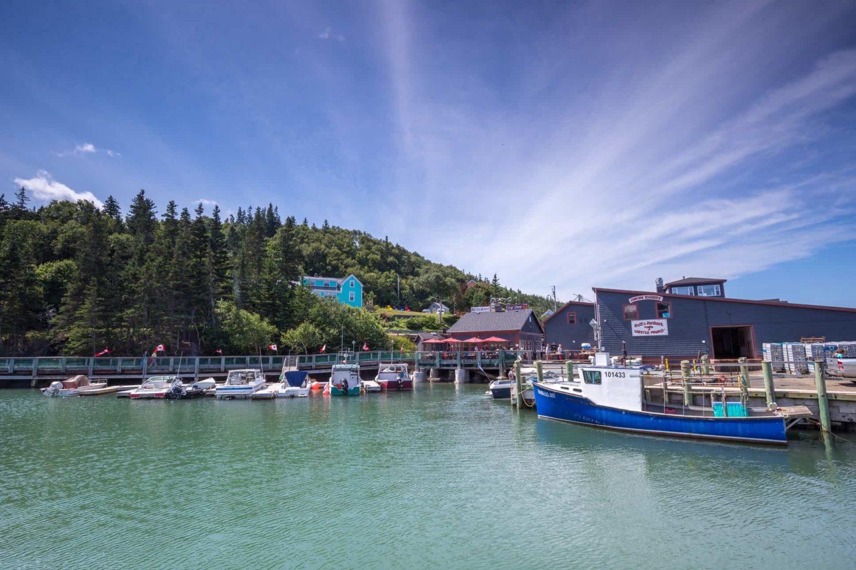 Fischerdörfchen Hall's Harbour