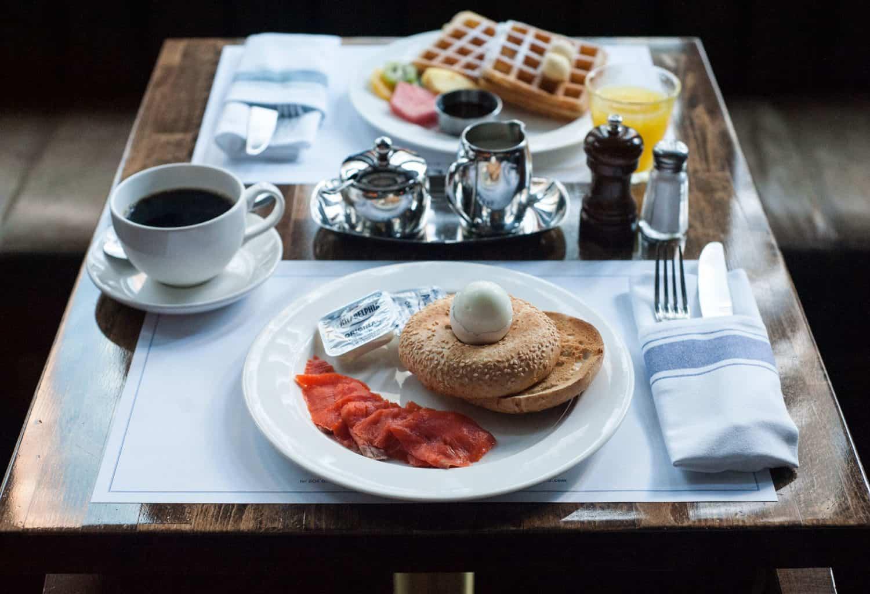Frühstück im Loden Hotel
