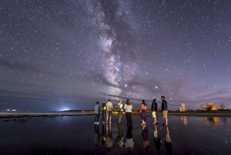 Sterne beobachten bei White Point