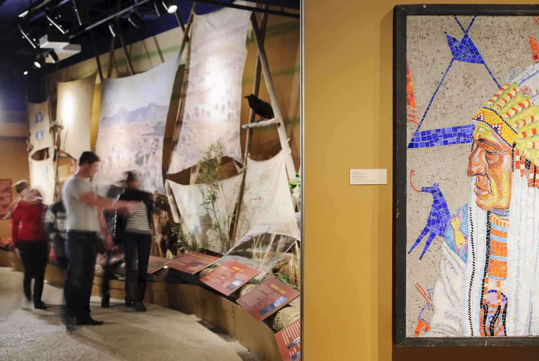 Glenbow museum mit Indianerbild