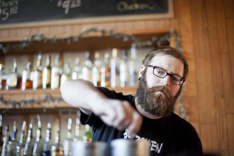 Pub mit Barkeeper
