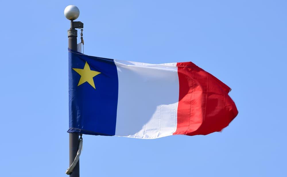 Akadische Flagge