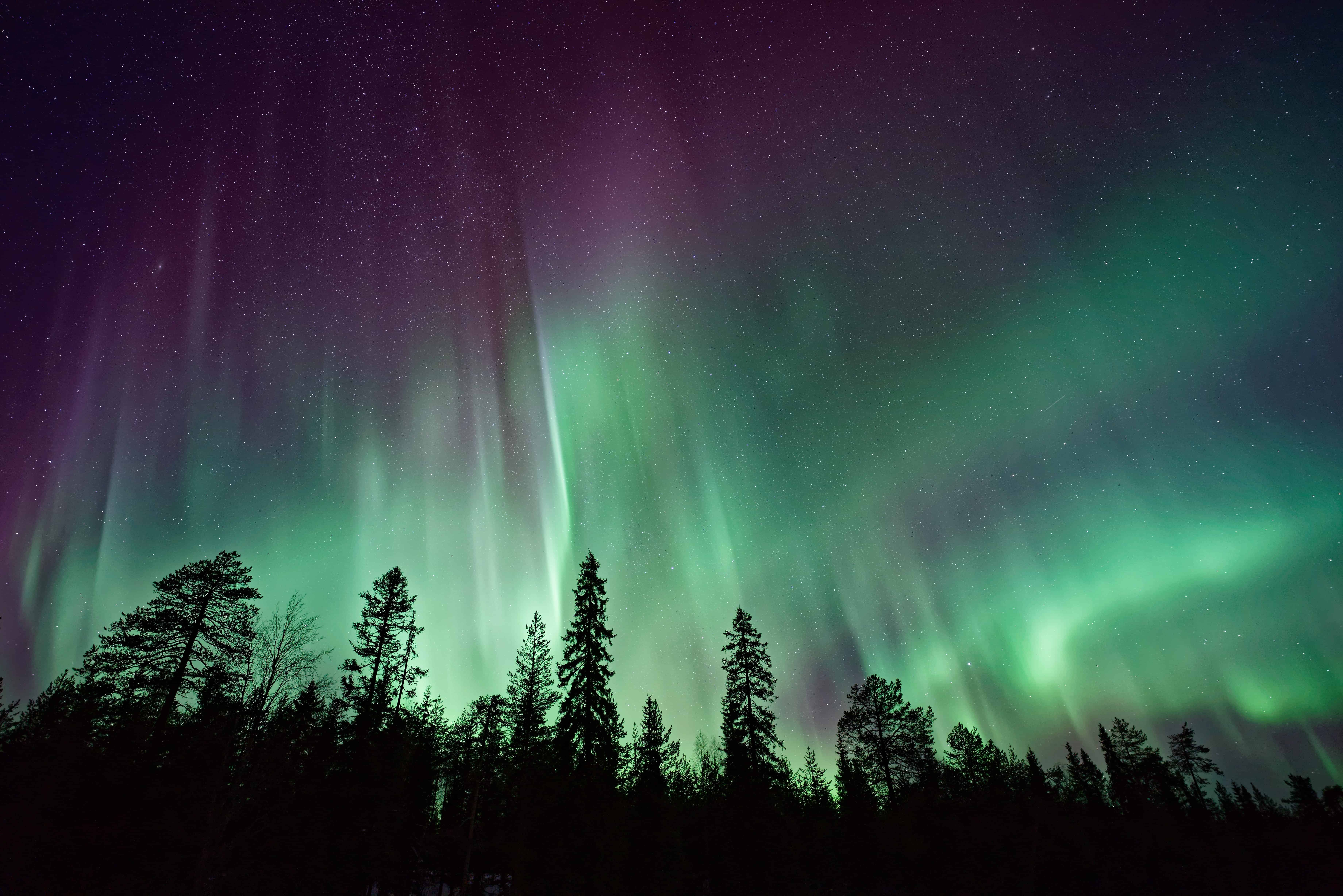 Nordlichter, Polarlichter, Aurora Borealis