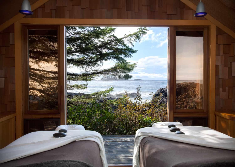 Wickaninnish Inn mit zwei Betten