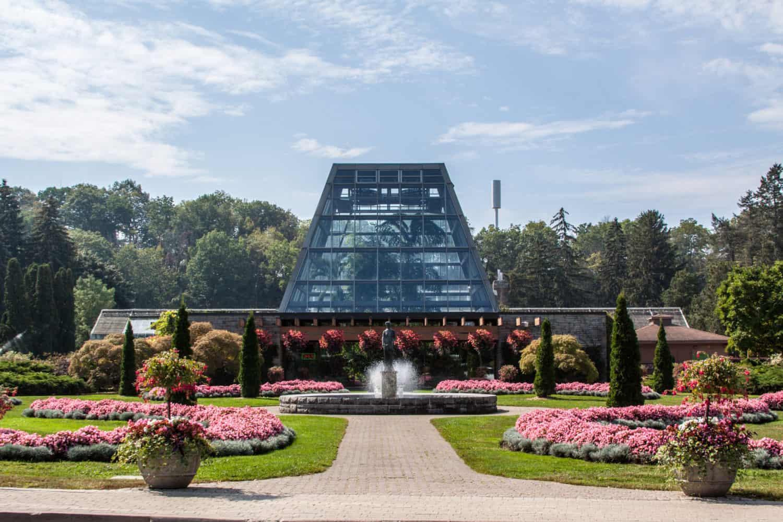Floral Showhouse im Botanischer Garten bei den Niagarafällen, Niagara Parks, Canada