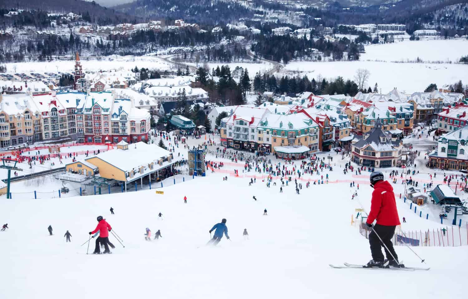 Mont-Tremblant Ski Resort in Quebec