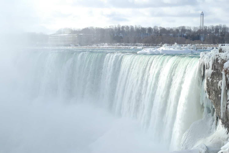 Niagarafälle im Winter, Ontario, Canada