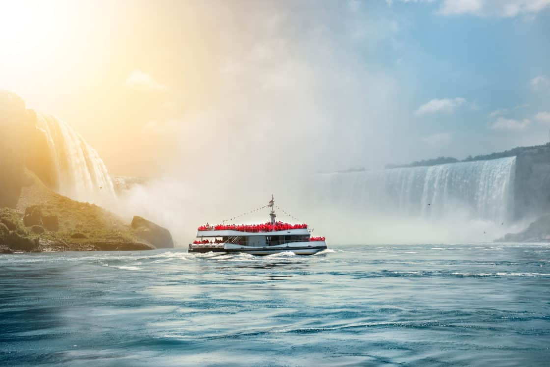 Bootstour bei den Niagarafällen in Kanda