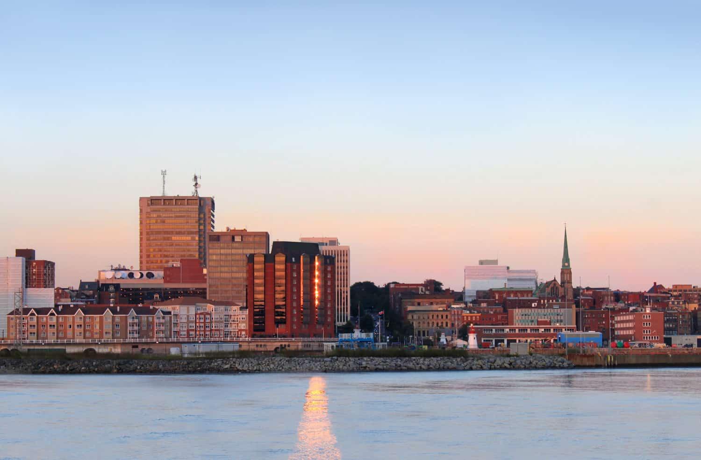 Innenstadt von Saint John, New Brunswick,