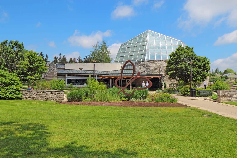 Butterfly Conservatory im Botanischer Garten bei den Niagarafällen, Niagara Parks, Canada