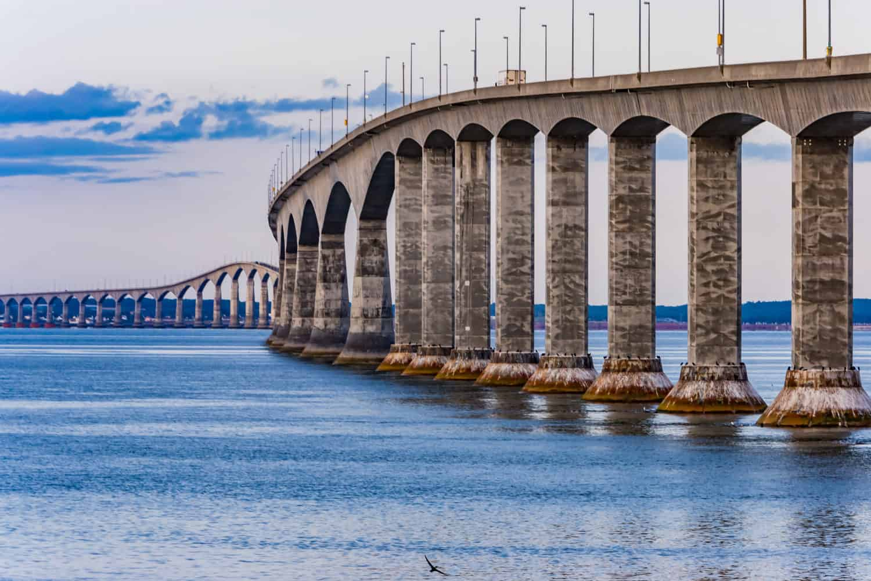 Fixed Link Bridge in Prince Edward Island,Kanada