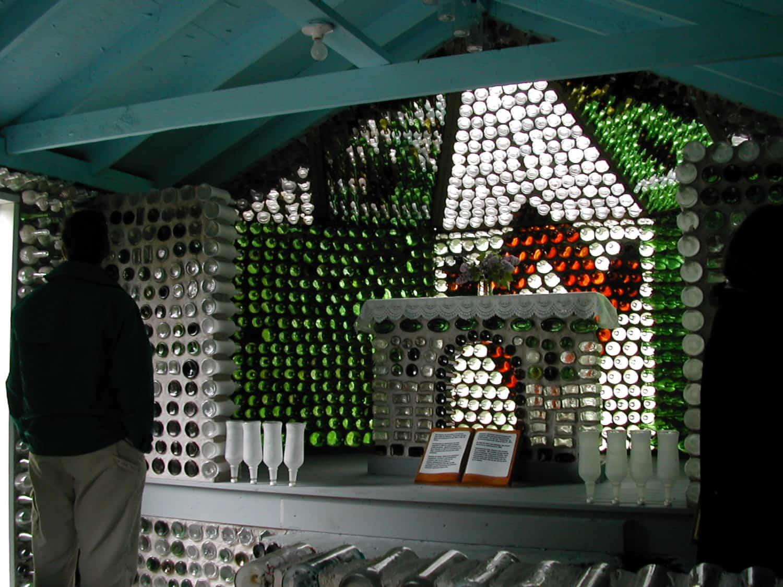 Glass Bottle House in Prince Edward Island, Kanada