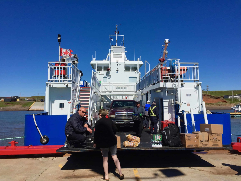 MV Ivan Quinn Transportschiff