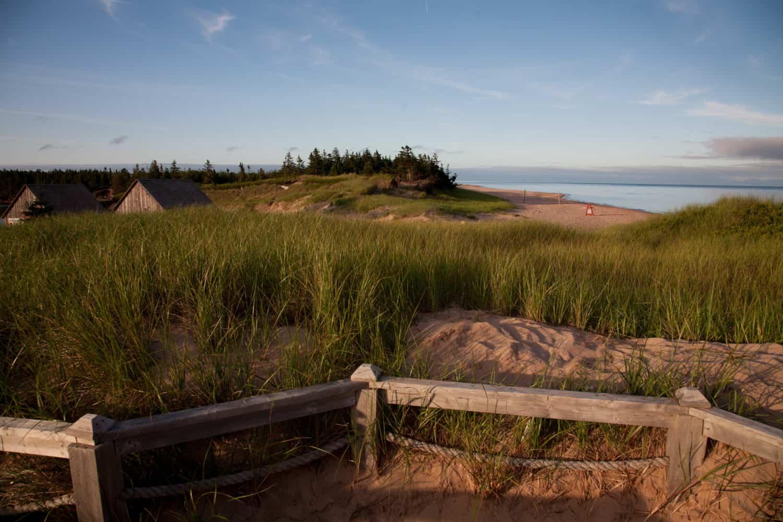 Basin Head National Park in Prince Edward Island, Kanada