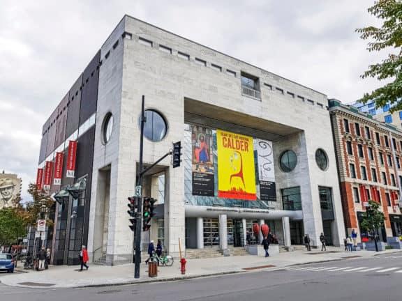 Das Montreal Museum of Fine Arts, Quebec, Kanada.