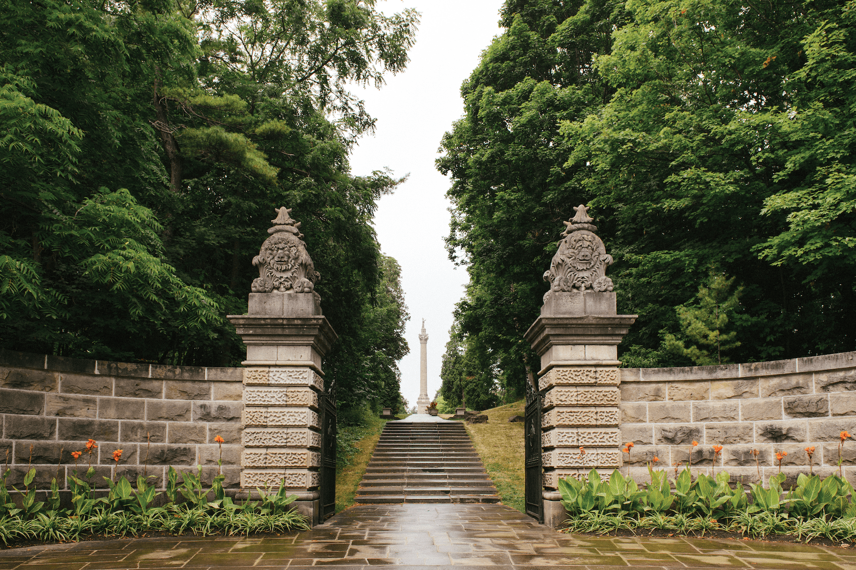 Brock's Monument in Queenston Heights