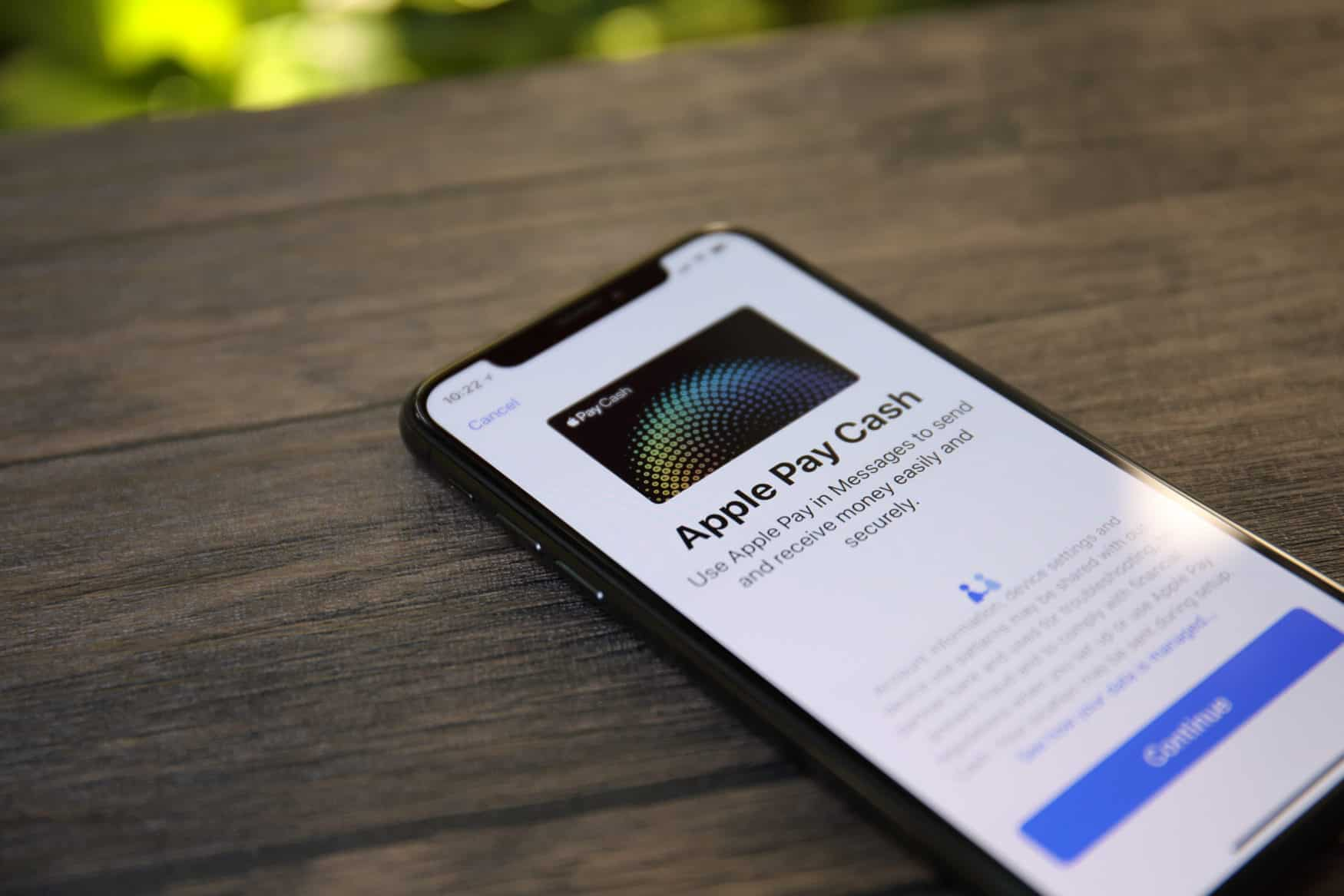 Apple Pay Cash auf iPhone X