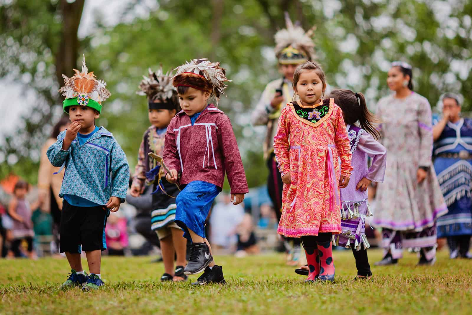 First Nations Kids in Kanada