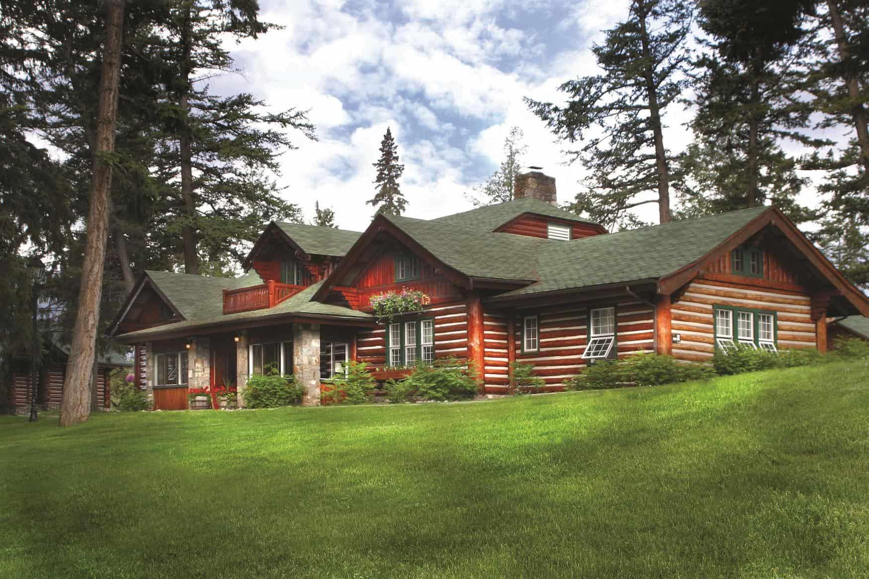 Eisenbahnhotel: Jasper Park Lodge, Jasper