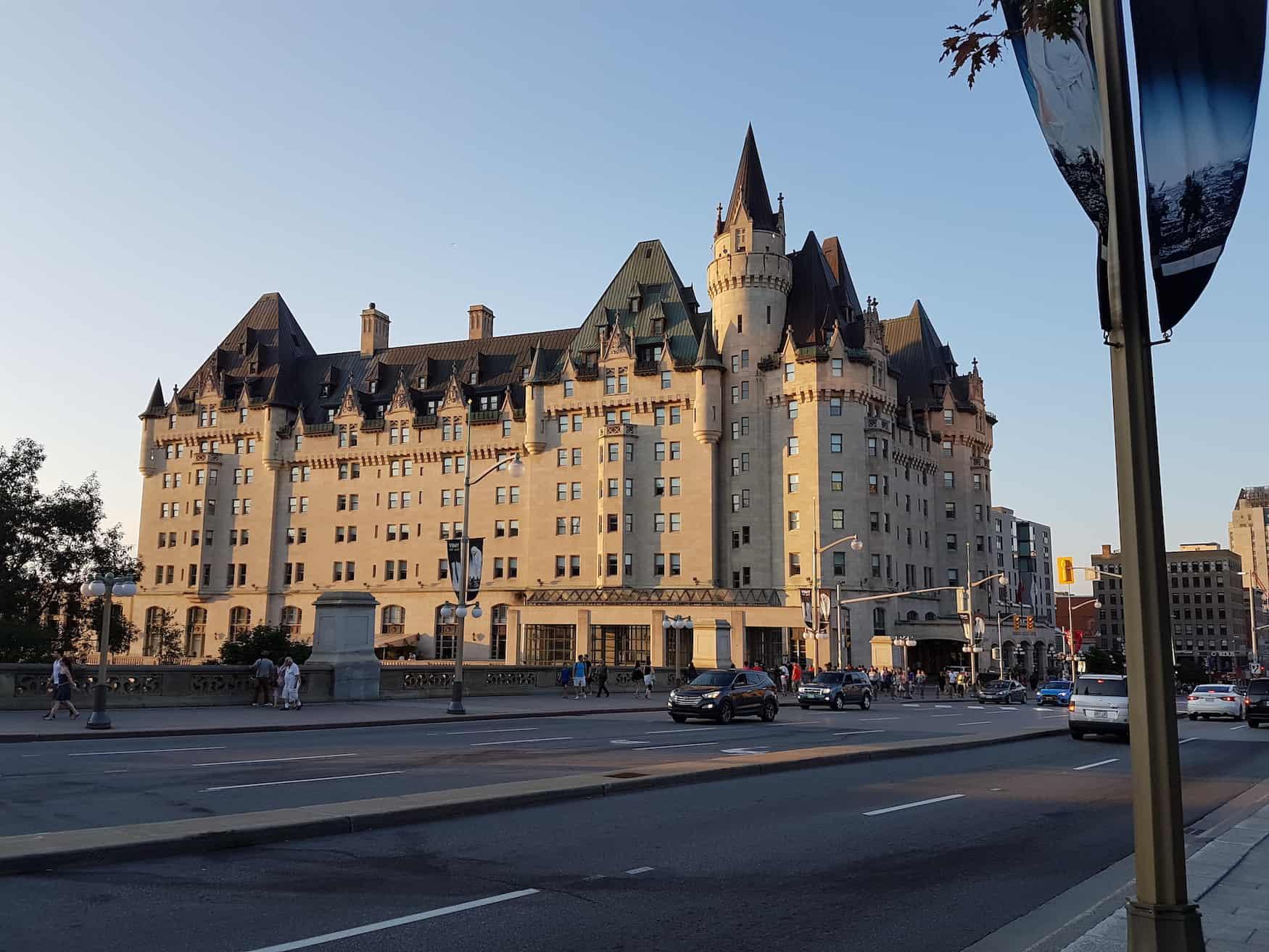 Eisenbahnhotel Château Laurier, Ottawa