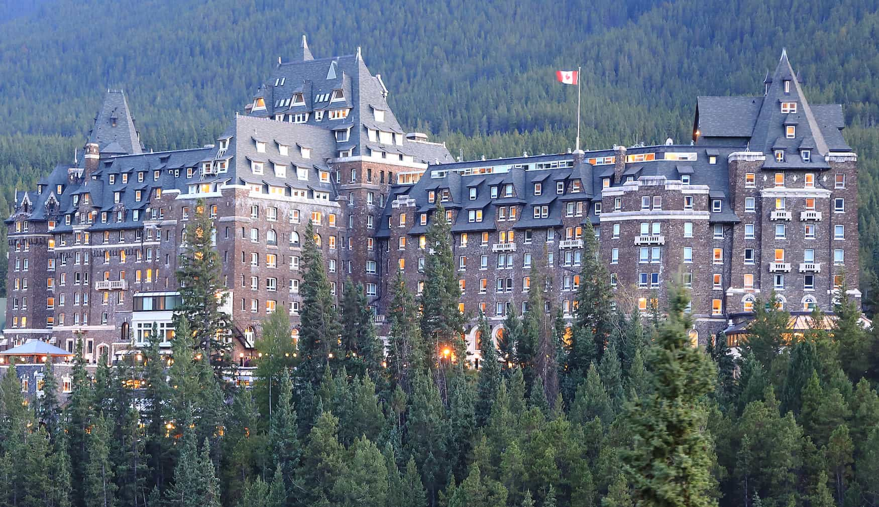 Fairmont Spring Hotel. Banff, Alberta, Kanada