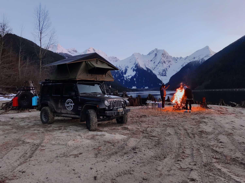 Overlanding Escape Erlebnis in BC