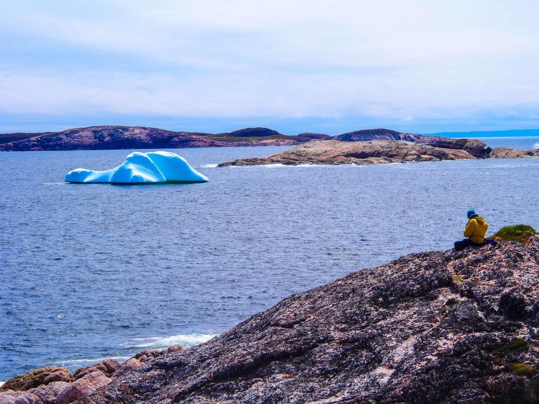 kleiner Eisberg mitten in Labrador bei Battleharbour