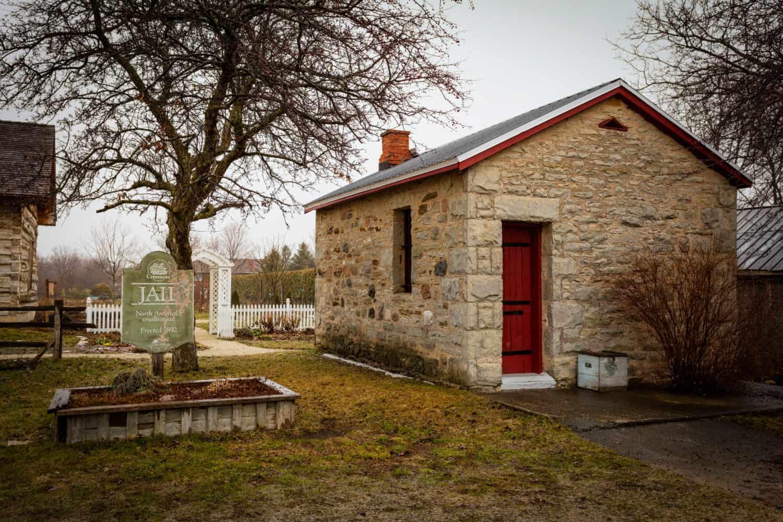 Das kleinste Gefängnis Nordamerikas in Creemore